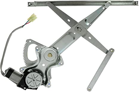 =Rear Prius Front Window Regulator Compatible with 2005-2010 Scion tC Power with Motor Yaris Sedan Driver Side