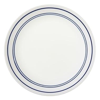 Corelle Livingware Classic Café Blue 8.5  Lunch Plate (Set of 4)