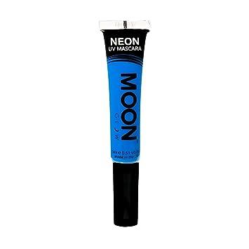 Moon Glow - Blacklight Neon Mascara 0.51oz Blue – Glows brightly under Blacklights / UV Lighting!