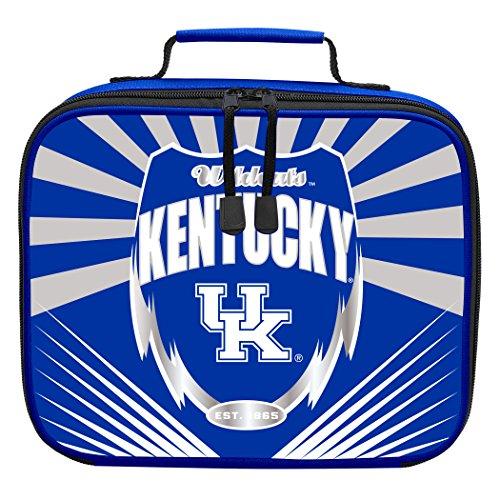 (Officially Licensed NCAA Kentucky Wildcats Lightning Kids Lunch Kit, Blue)