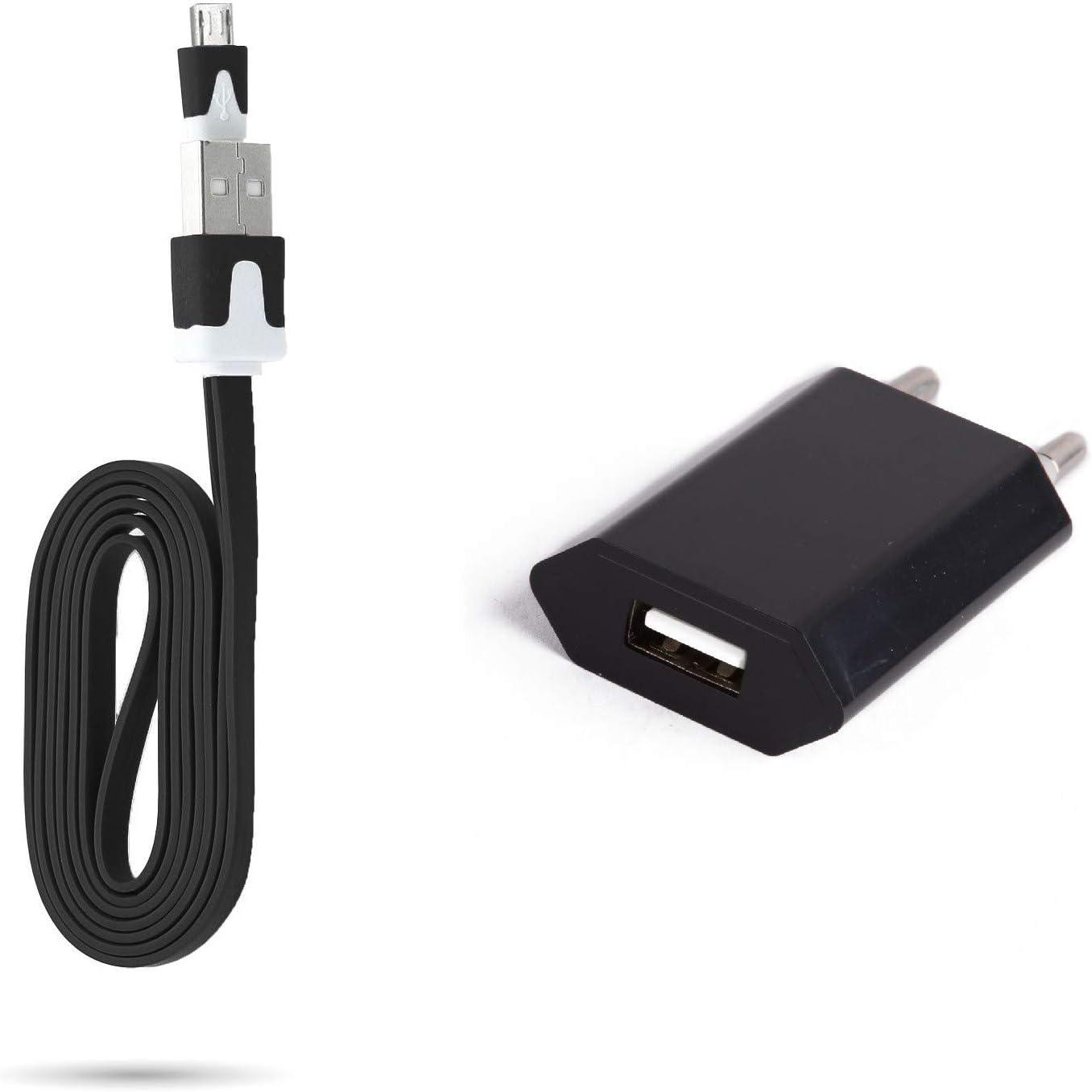 Cable Noodle 1M Cargador y Enchufe para ZTE Blade V7 Lite ...