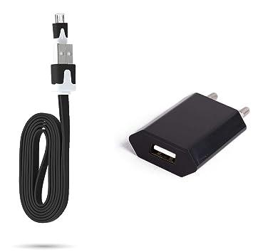 Cable Noodle 1 m Cargador y Enchufe para Motorola Moto G 2G ...