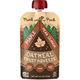 Munk Pack - Ready-to-Eat Oatmeal Fruit Squeeze Pouch Maple Pear Quinoa - 4.2 oz.