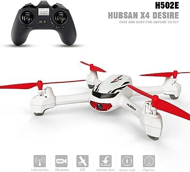 Opinión sobre HUBSAN H502E X4 Desire CAM Drone GPS 720P HD Camara Retorno a Origen Mantner Altitud Cuadricoptero (H502E)