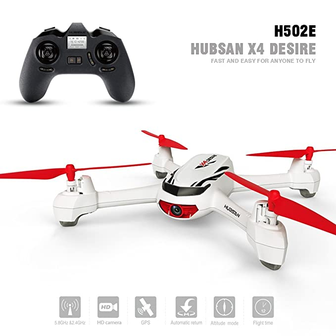 Hubsan H502E X4 DESIRE CAM Drone GPS 720P HD Camara Retorno a ...