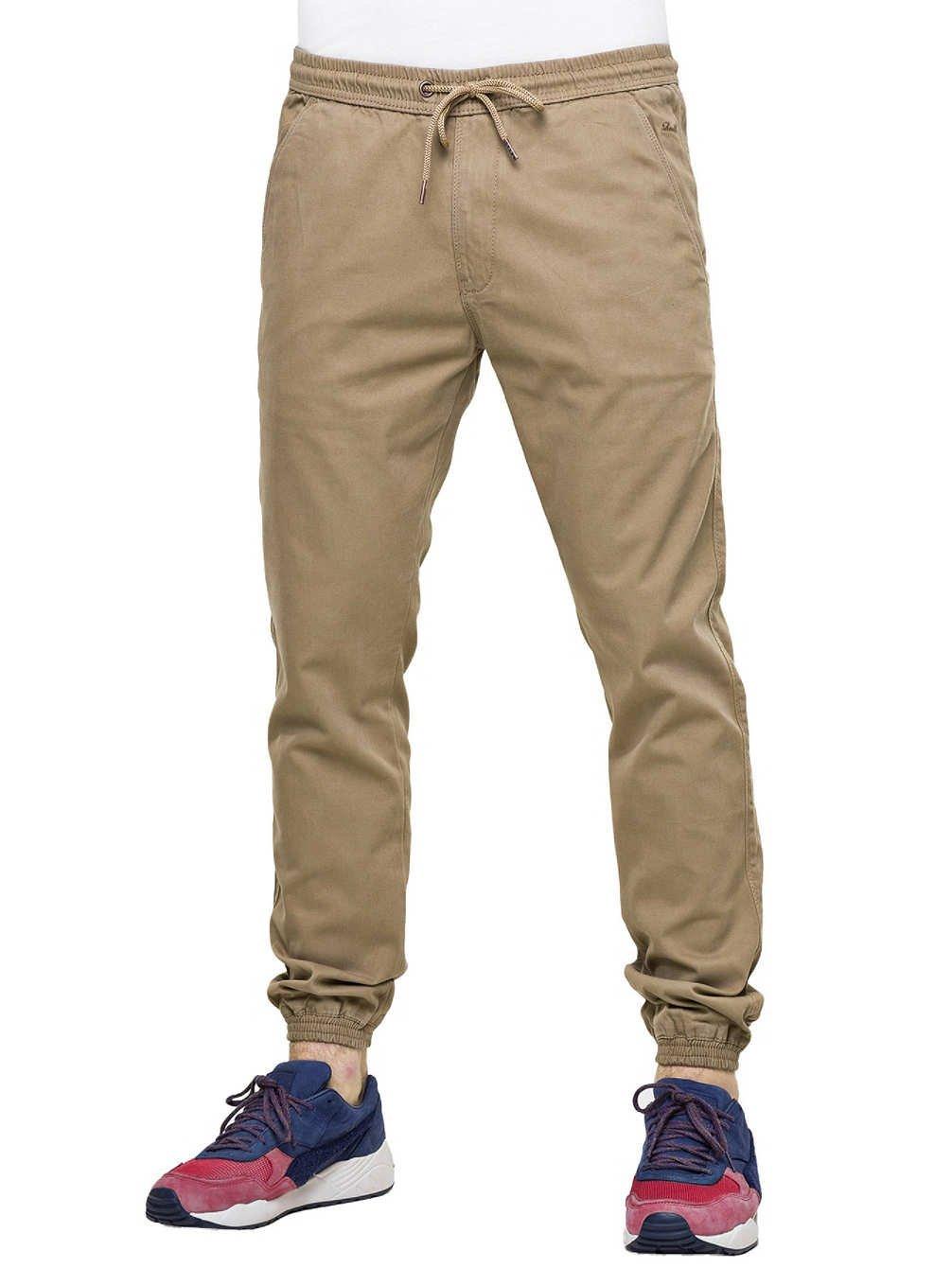 Reell Jeans Uomo Pantaloni in tela Reflex Twill