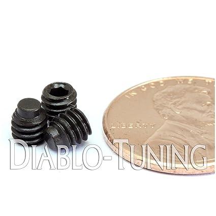 """Half Dog Point Socket SET Qty 10 GRUB SCREWS Alloy Steel 1//2 #8-32 x 3//16/"""""""