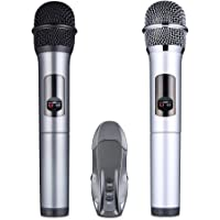 Lumsing Wireless Handheld Microphone Karaoke with Portable Bluetooth Receiver