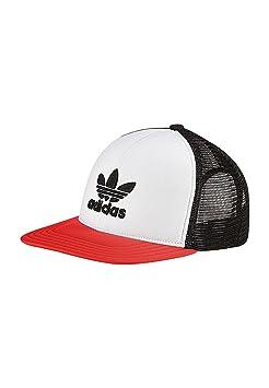 adidas T H Trucker CA Gorra de Tenis, UN, Negro/Blanco/ROALRE, OSFM