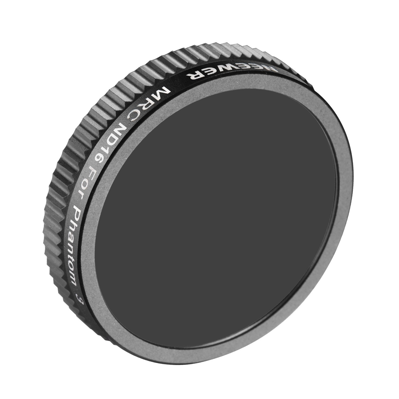 Neewer® for DJI Phantom 3 Professional and Phantom 3 Advanced Neutral Density ND16 Filter Not for DJI Phantom 3 Standard