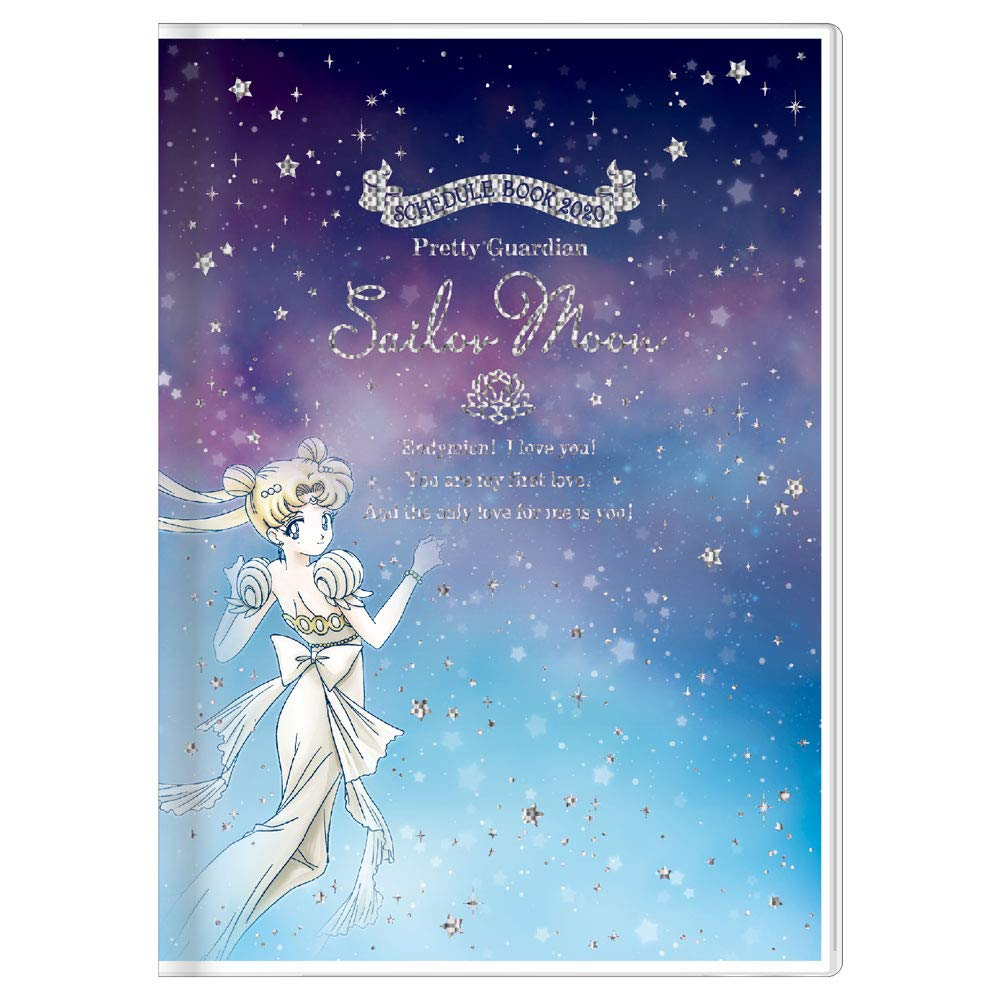 Pretty Guardian Sailor Moon Schedule book 2020 B6 Size Monthly Japan import NEW