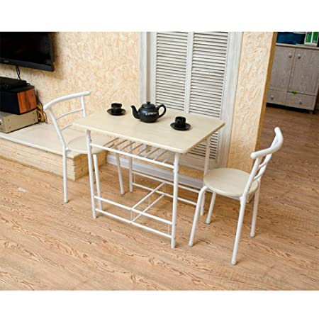 Nan Mesa Plegable Ajustable 0 y Silla Mesa de Comedor 1 y 2 sillas ...
