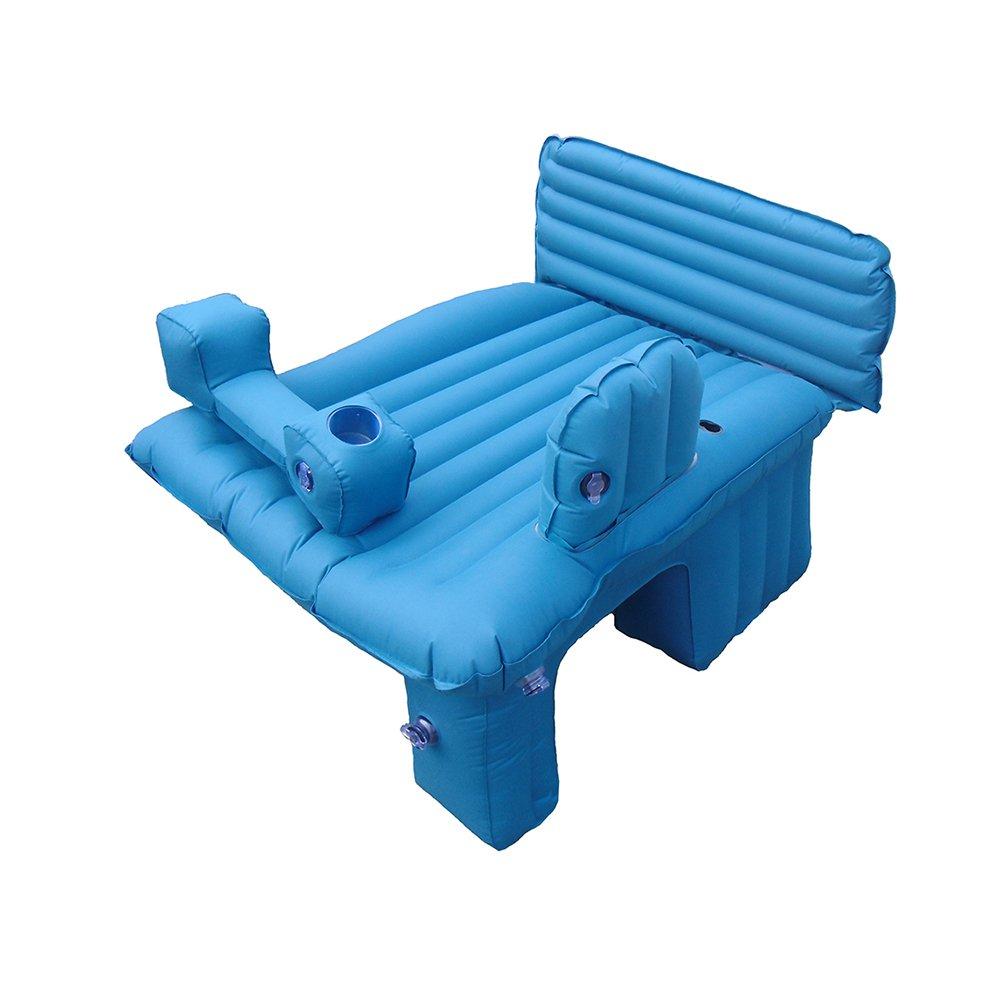 YZY Luftmatratze Selbstfahrende Tour Car Kind Matratze Reisebett Multifunktionale Isomatte Baby Luftbett Komfortabel (Farbe : Blau1)
