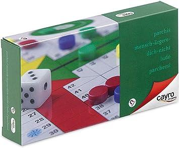 Cayro - Parchís Magnético Pequeño - Juego de Tradicional - Juego de Mesa - Desarrollo de Habilidades cognitivas - Juego de Mesa (402): Amazon.es: Juguetes y juegos