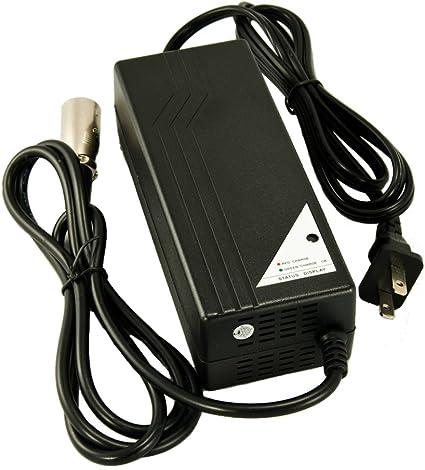 Amazon.com: NUEVO 24 V 4 A Cargador de batería para Jazzy ...