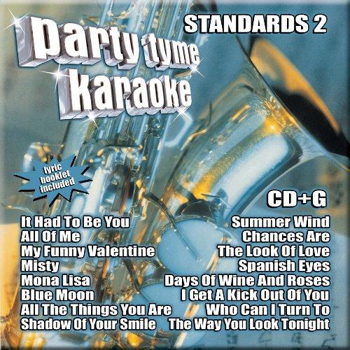 Standards Karaoke Cd - Party Tyme Karaoke - Standards 2 (8+8-song CD+G)