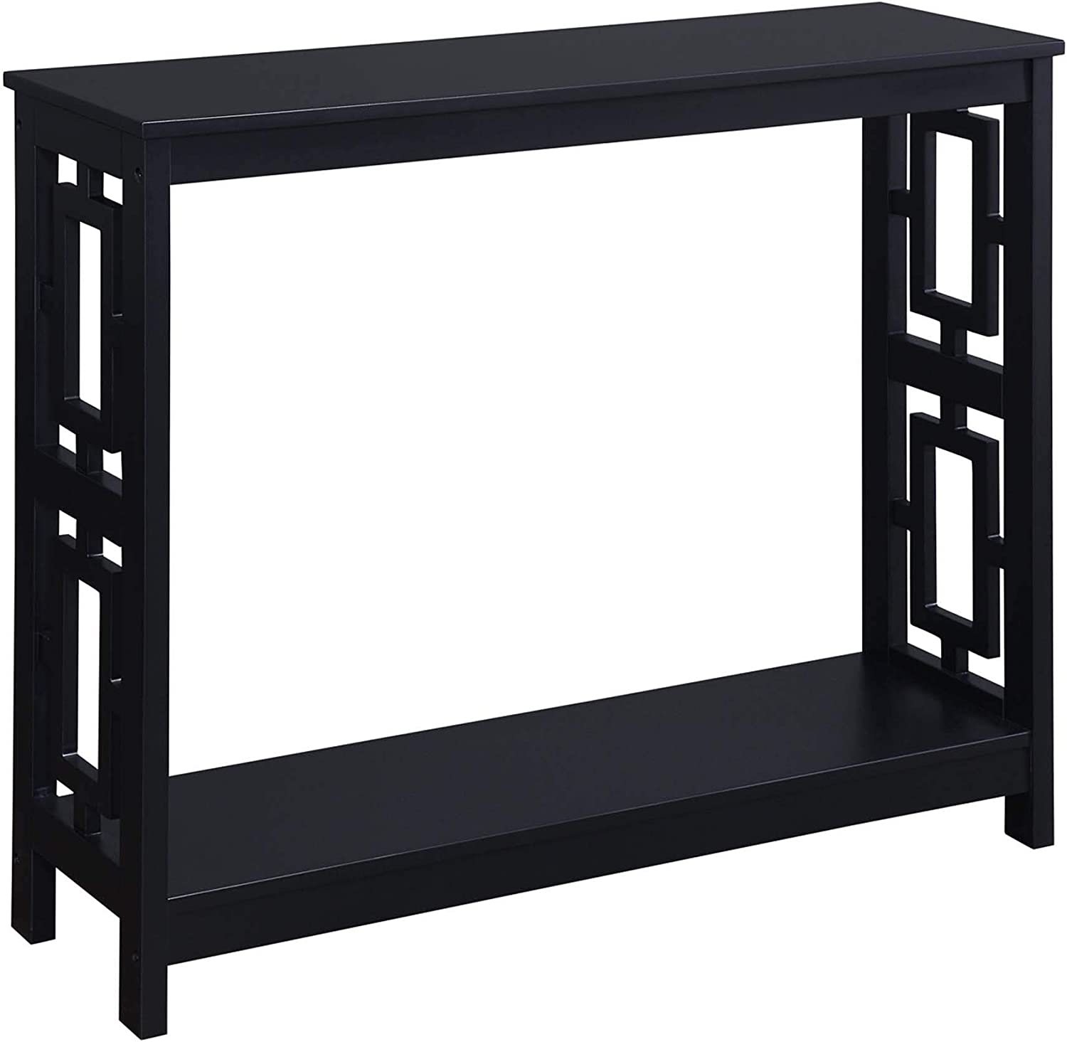 Convenience Concepts Town Square Console Table, Black