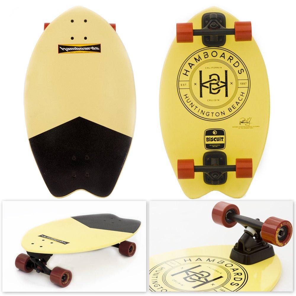Hamboards Biscuit Skateboard (Black Tail)