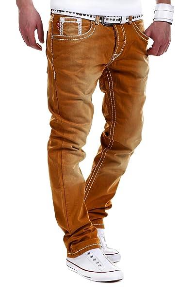Jeans-Style MT - RJ-112 - Vaqueros para Hombre - Corte Recto ...