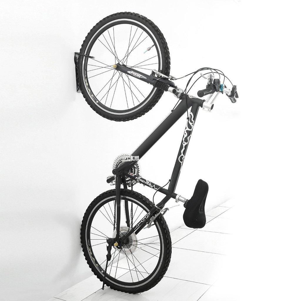 Hipiwe Rastrelliera per Bici Montata con Gancio per Deposito Biciclette Bici Gancio da Parete Staffa 1 Pezzi