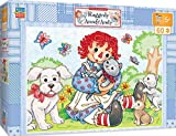 we have company jigsaw puzzle - MasterPieces Puzzle Company Raggedy Ann & Andy-Best Friends 60 Piece Right Fit Puzzle, Multicolored, 14