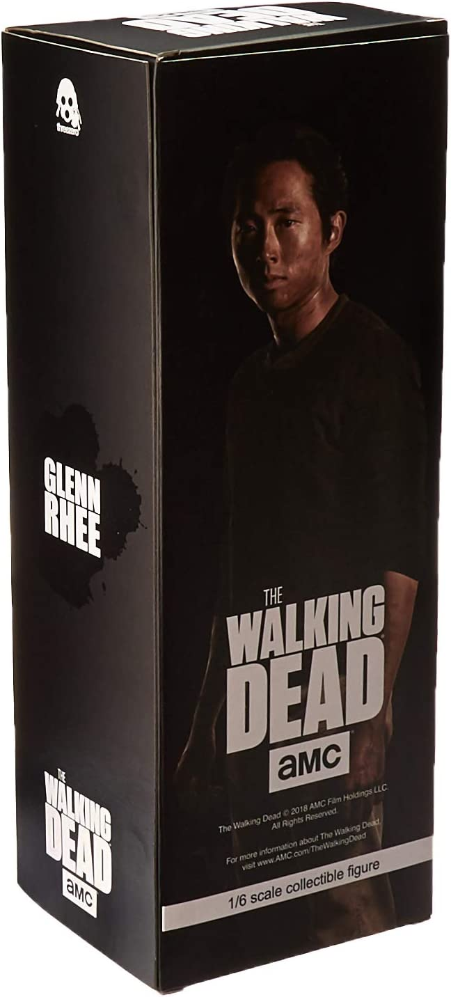 ThreeZero The Walking Dead 1//6 escala Glenn Rhee Nuevo