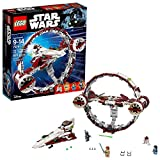 LEGO 6175769 Star Wars Jedi Starfighter with Hyperdrive 75191 Building Kit (825 Piece), Multicolor...
