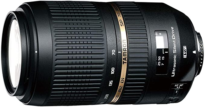 Tamron Sp Af 70 300 F 4 5 6 Di Vc Usd Lens For Canon Camera Photo