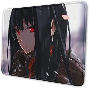 Baby Y-oda Mouse Pad with Stitched Edge Non-Slip Rubber Base Mousepad for Laptop 8.3 X 10.3 in