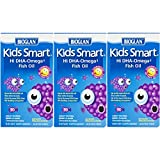 Bioglan Kid's Smart Omega 3 Fish Oil Chewable Burstlets 30 Count (Pack of 3), Children's Fish Oil Supplement, Supports Brain Function Review