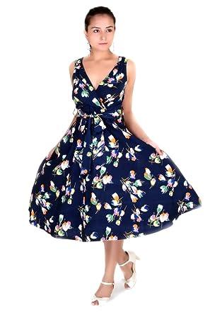 Womens Dress 40s 50s Swing Style Vintage Rockabilly Ladies Retro