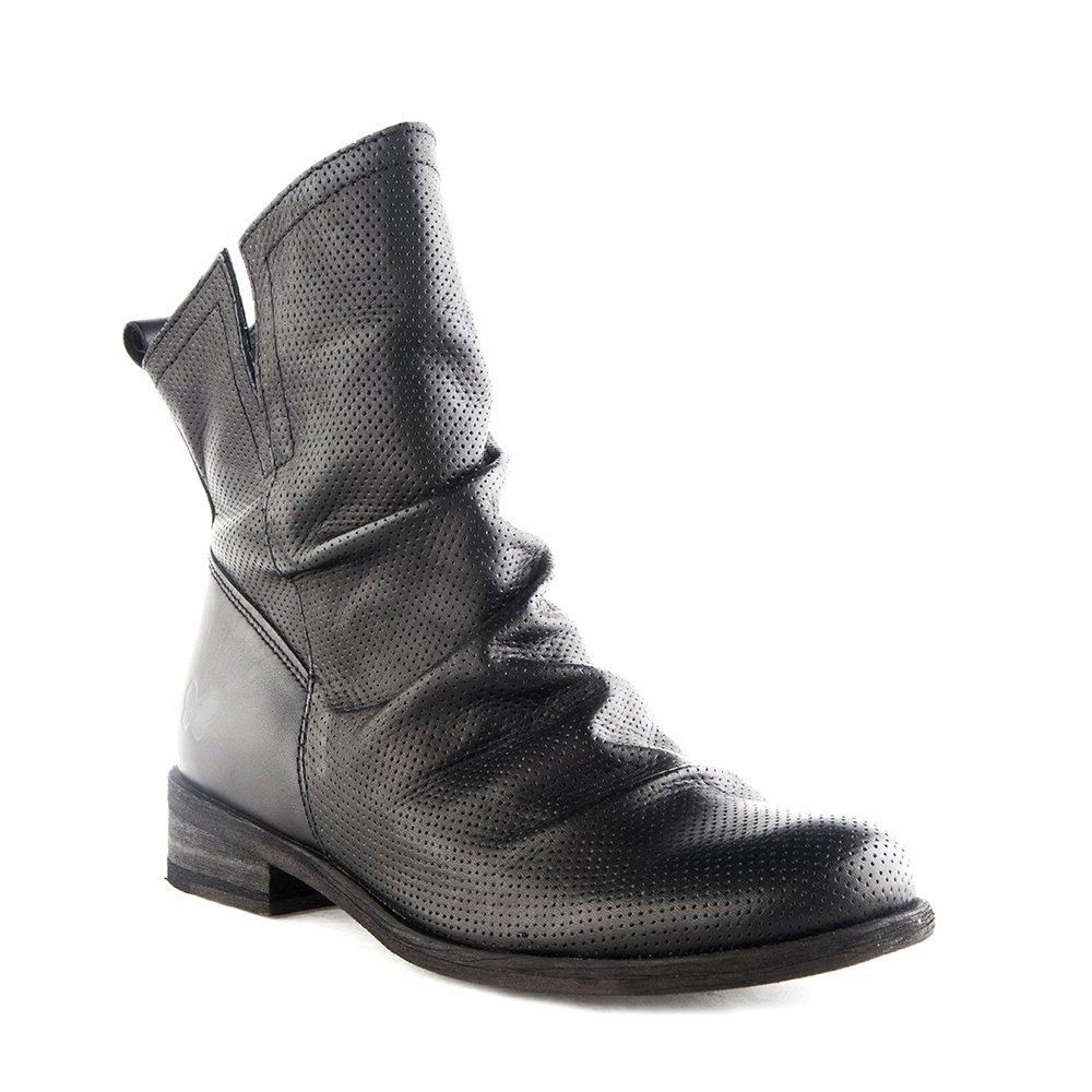 Felmini Damen Schuhe - Verlieben Bomber 8950 - Cowboy & Biker Stiefel - Echte Leder - Schwarz - 0 EU Größe