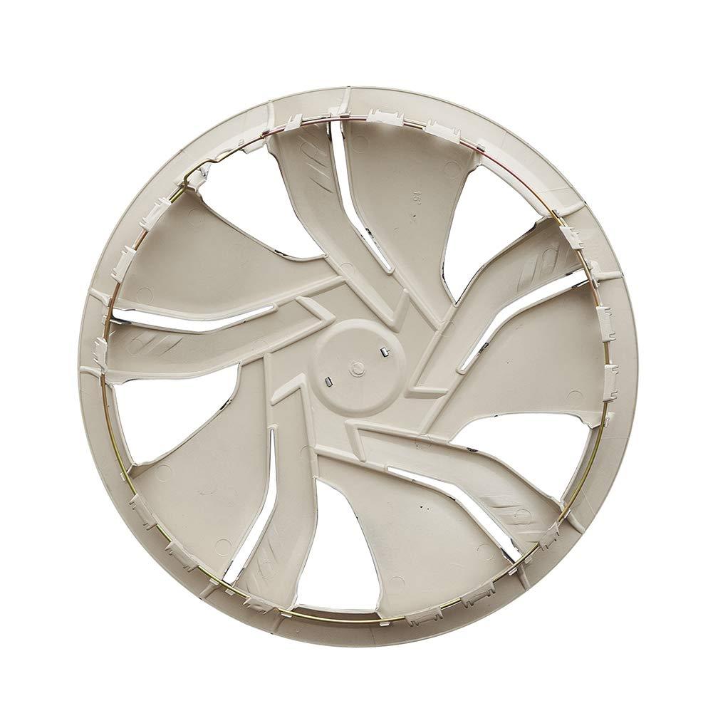 Silver Aumo-mate 2pcs Universal Auto Car Wheel Drum Brake Racing Cover