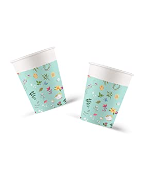 COOLMP - Juego de 12 Vasos de cartón Premium Princesas ...