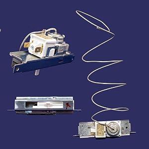 Whirlpool W2315562 Refrigerator Temperature Control Thermostat Genuine Original Equipment Manufacturer (OEM) Part