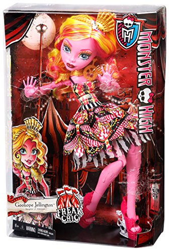 Monster High Freak du Chic Gooliope Jellington Doll (Discontinued by manufacturer)