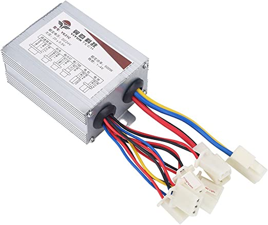 24V 500W Motor Brushed Controller Box for Electric Bicycle Scooter E-bike DIY