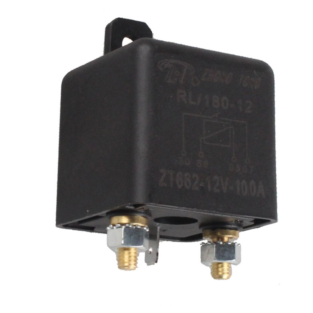 E Support Car Auto Heavy Duty Split Charge Dc 12v 100a Details About 200 Amp Circuit Breaker Replace Fuse 200amp 100 Spst Relay 4 Pin 4p Rl180 Cell Phones Accessories