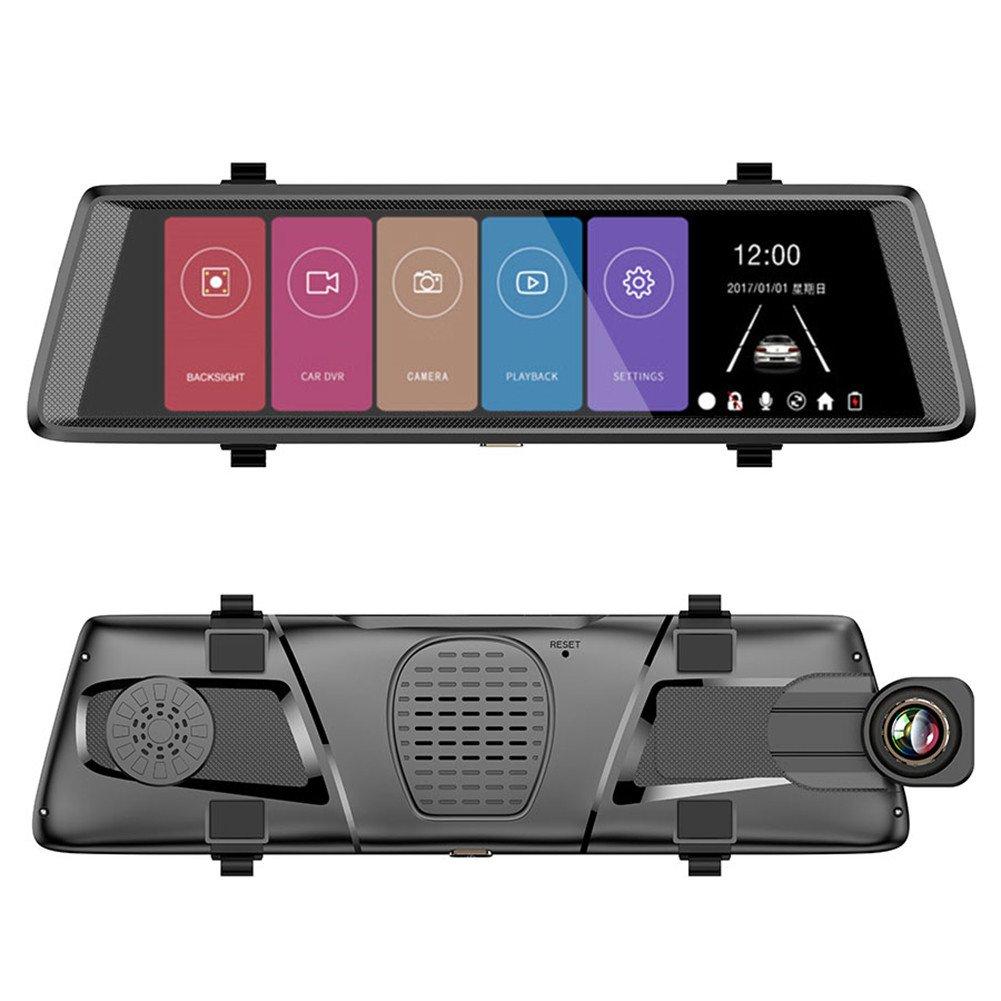 waroomss coche Dash Cam, 1080 P a distancia de monitoreo automó vil grabador de datos con 10 pulgadas Android pantalla tá ctil coche DVR doble lente cá mara trasera F900