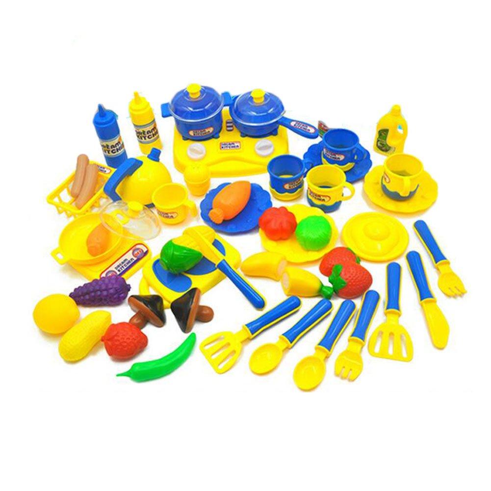 Küchenspielzeug Schneiden Kinderküche Pädagogisches Lernen Obst Spielzeug Kunststoff Gemüse Gemüse Gemüse Lebensmittel Rollenspieleeichhorn Weihnachtsgeschenk CFZHANG 38e85b