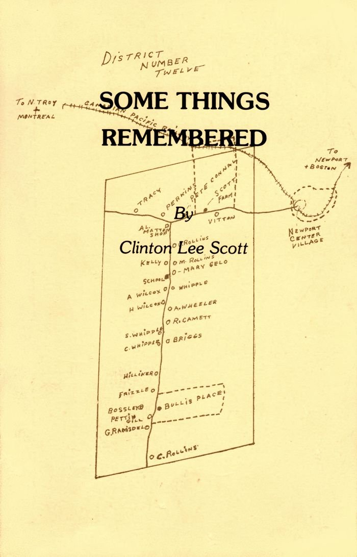 Some Things Remembered