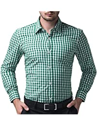 Amazon.com: Green - Dress Shirts / Shirts: Clothing, Shoes & Jewelry