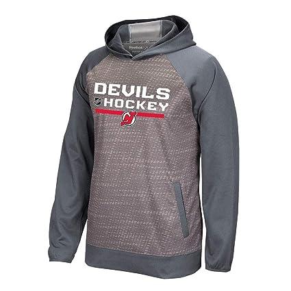 reputable site cf8f7 b1c75 Amazon.com : adidas New Jersey Devils Reebok Center Ice TNT ...