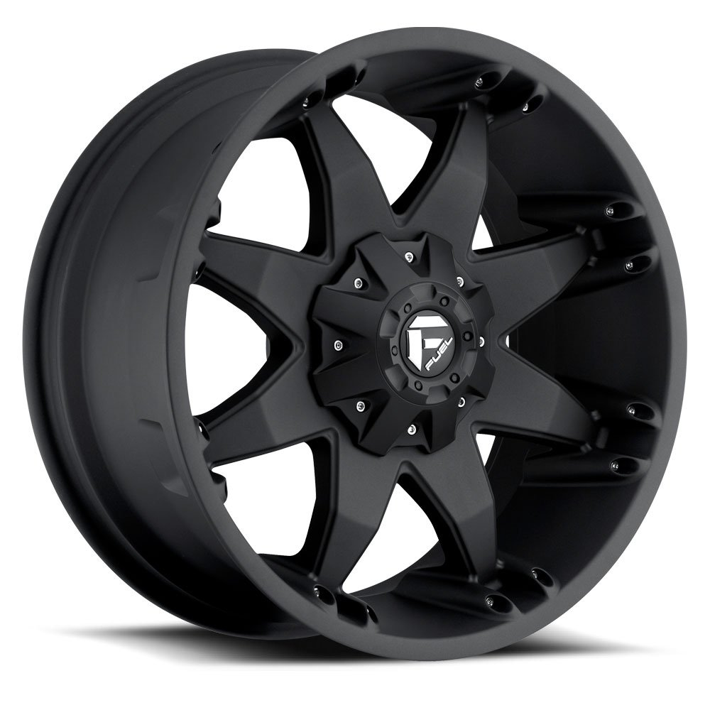 Fuel Octane black Wheel with Painted Finish (20 x 12. inches /6 x 135 mm, -44 mm Offset)