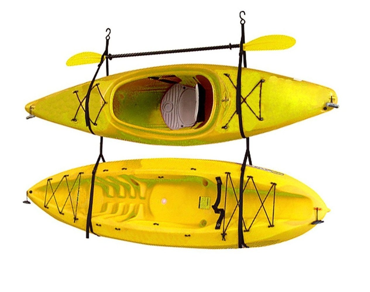 Kayak Strap Hang-2 Gear Up Deluxe Storage Black by Canoe (Image #1)
