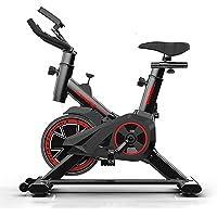 Dvuboo Bicicleta Estática Adulto, Bicicleta De Fitness Cubierta,Bicicleta De Ejercicio Profesional Ajustable con Pantalla LCD,Equipo De Entrenamiento De Entrenamiento Cómodo Cojín Sillín,Negro