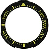 Casio Pro Trek Bezel schwarz/gelb Gehäuseteil Lünette für PRG-300 10500240