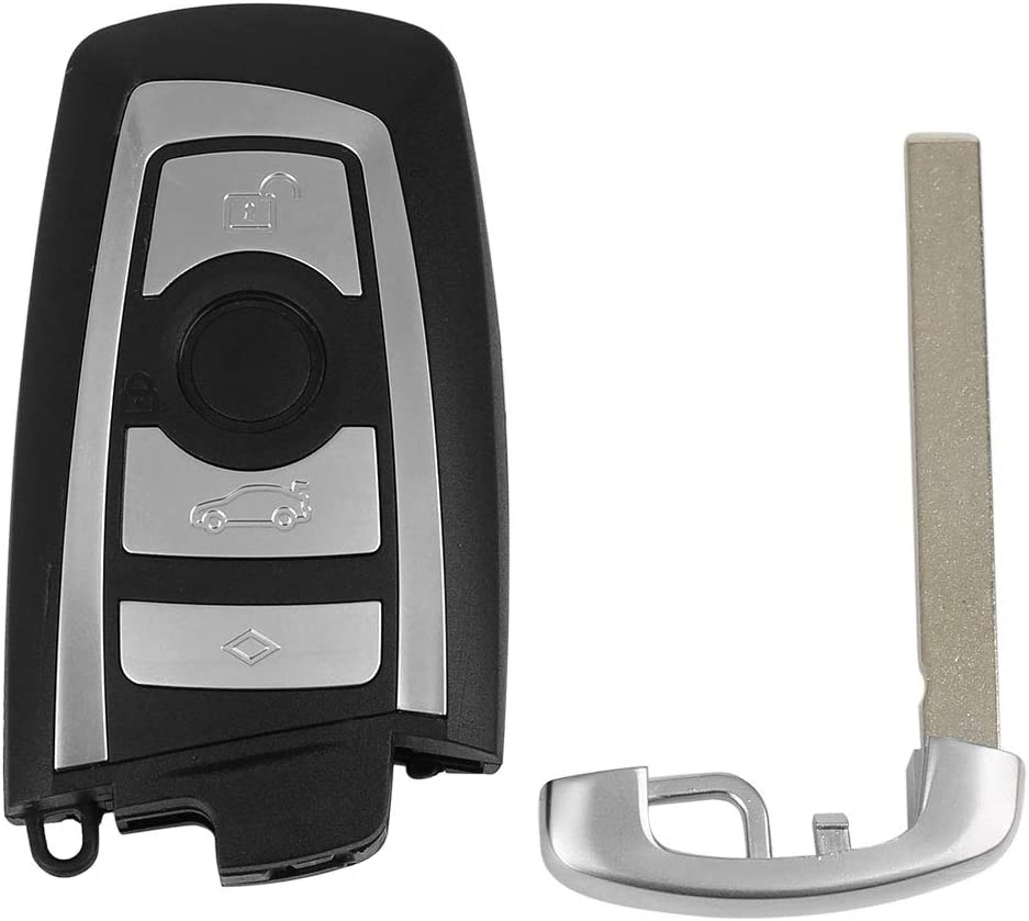 uxcell/® Replacement Keyless Entry Remote Car Key Fob KR55WK49863 267T-5WK49863-3 315Mhz for BMW