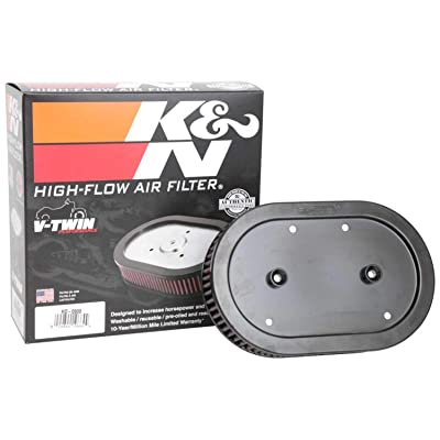 K&N Engine Air Filter: High Performance, Premium, Powersport Air Filter: HD-0900: Automotive