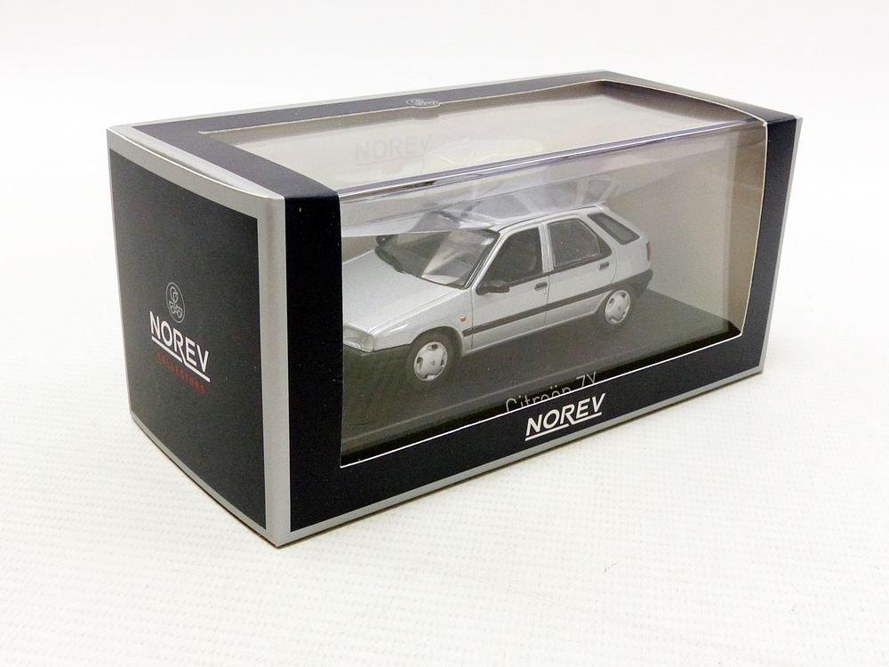 Plata, /ZX 1991/Citroen veh/ículo en Miniatura Escala 1//43 154103 Norev/